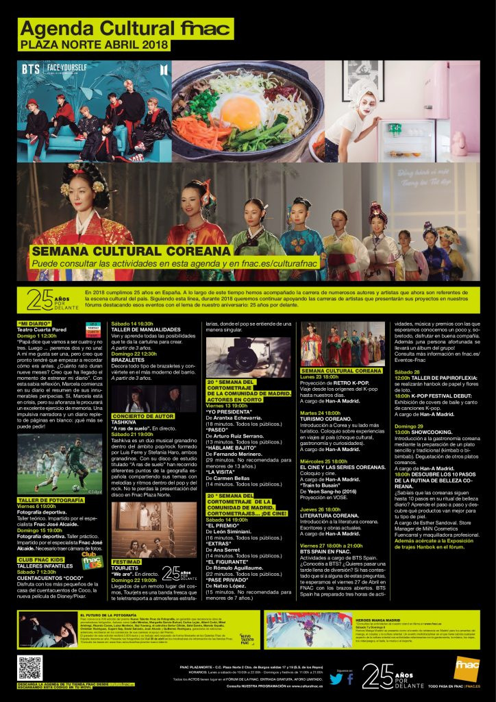 semana cultural coreana fnac y hana