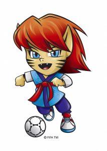 Mascota FIFA sub20 2017. Fuente: Google Search.