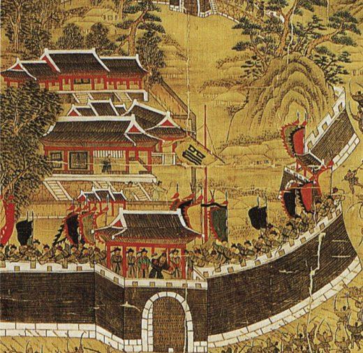 Invasión japonesa s. XVI. Fuente: Google Search.