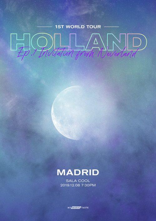 holland concierto madrid