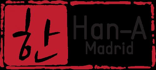 hanalogo letra negra